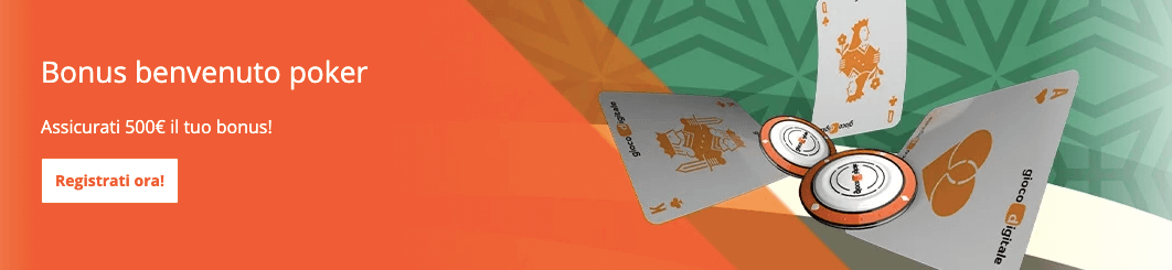 Gioco Digitale welcome bonus