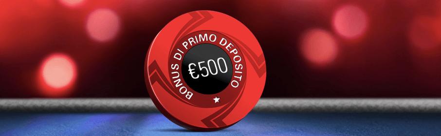 PokerStars Welcome bonus