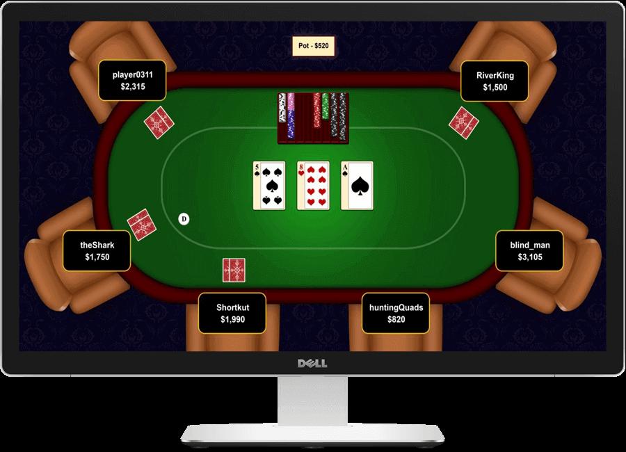giocare da desktop poker online
