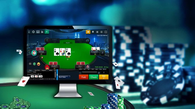 poker online vs poker live
