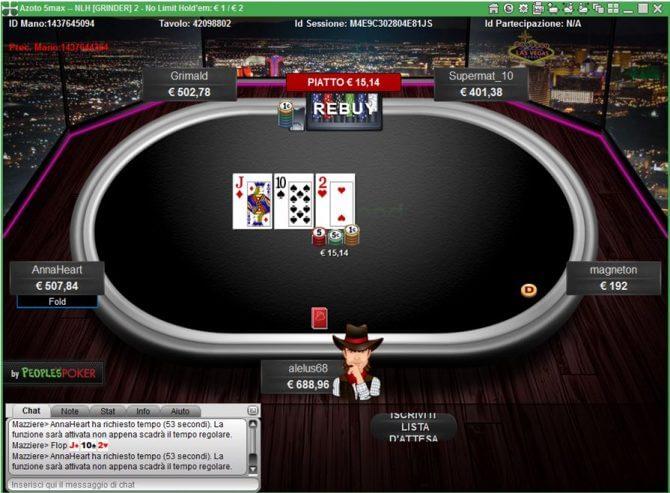 betaland poker tavolo