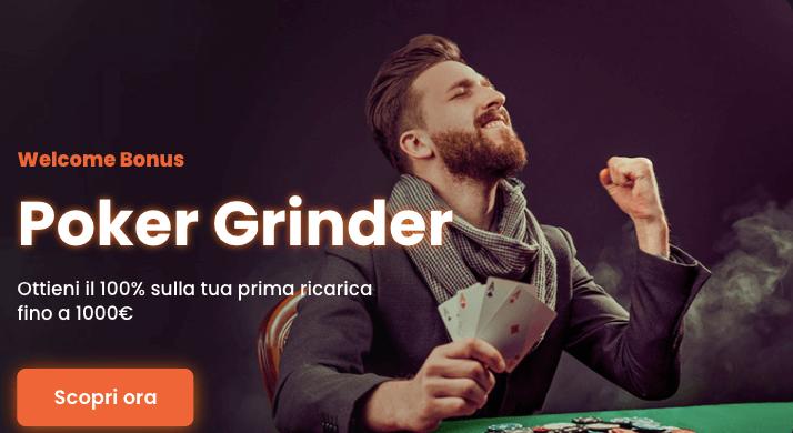 Newgioco Poker Bonus Benvenuto