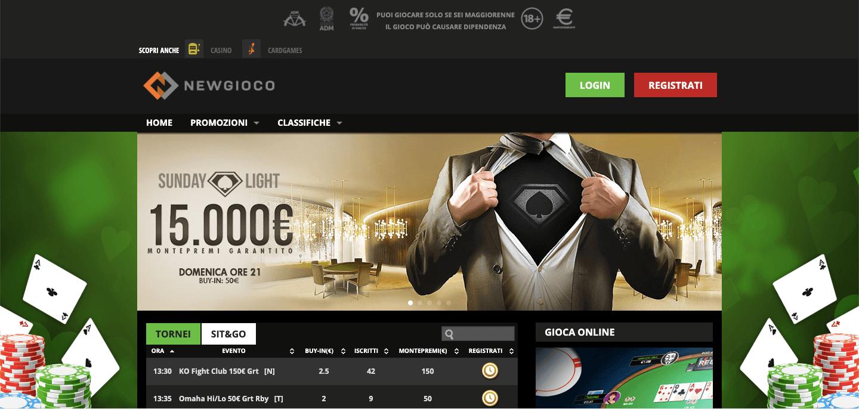 Newgioco Poker Home