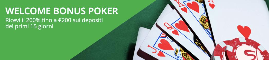 Stanleybet Poker Bonus Benvenuto