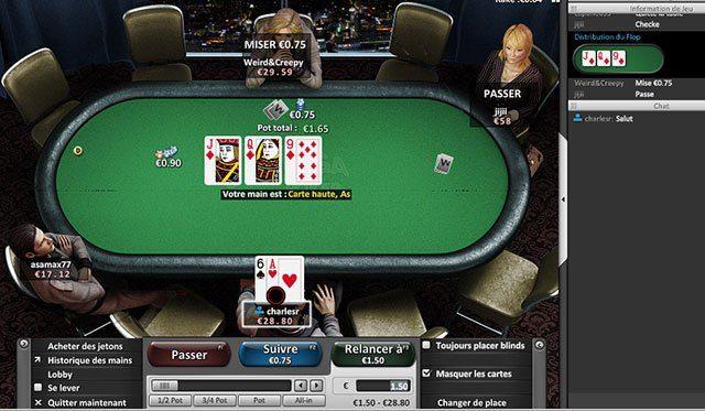 registrarsi in poker room online