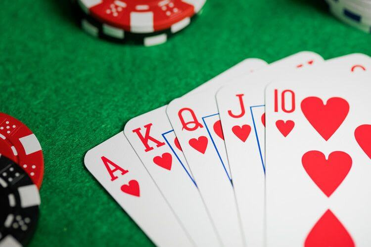 poker texas hold'eml le scale