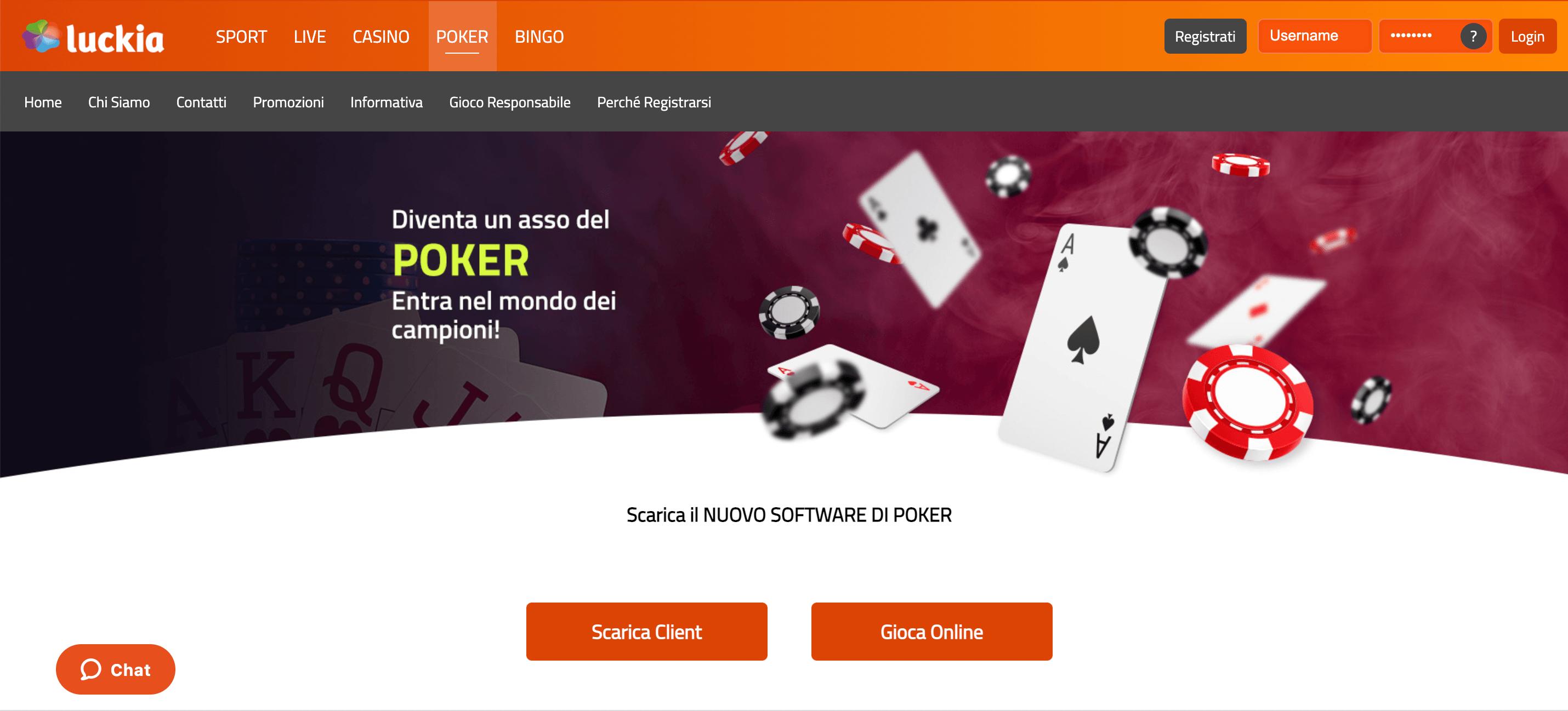Luckia Poker Home