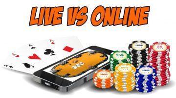poker dal vivo vs online differenze
