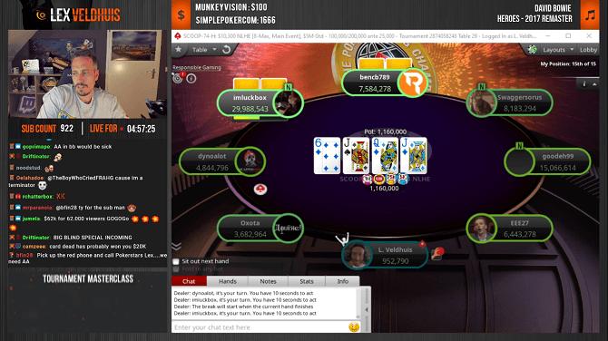 il poker sulla piattaforma twitch